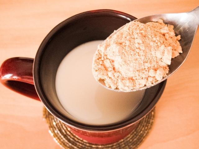 きな粉牛乳